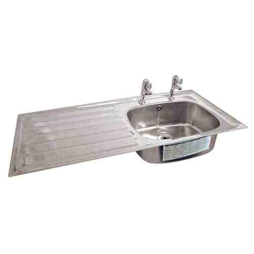 Best Stainless Steel Sinks Uk : Stainless Steel Sink with Drainer, laboratory grade 316