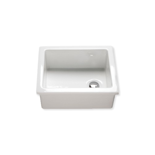 Lab Sink : Enamel Lab Sink 460mm x 365mm x 200mm -