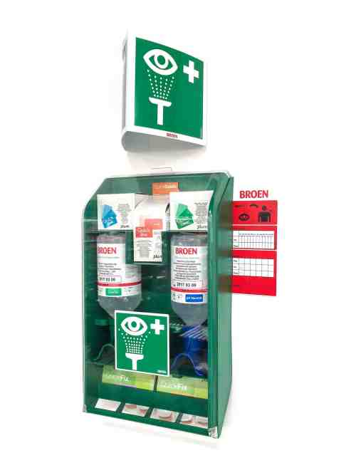 BROEN FIRST AID KIT MOUNTED
