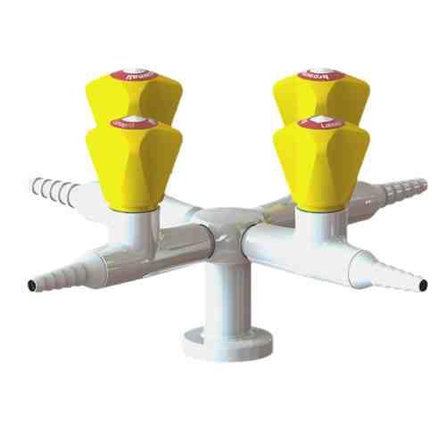XL3202210XX-52 4-way gas tap