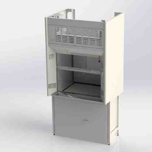 K8 Fume Cupboard with storage