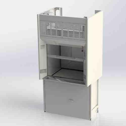 K8 Fume Cupboard with storage