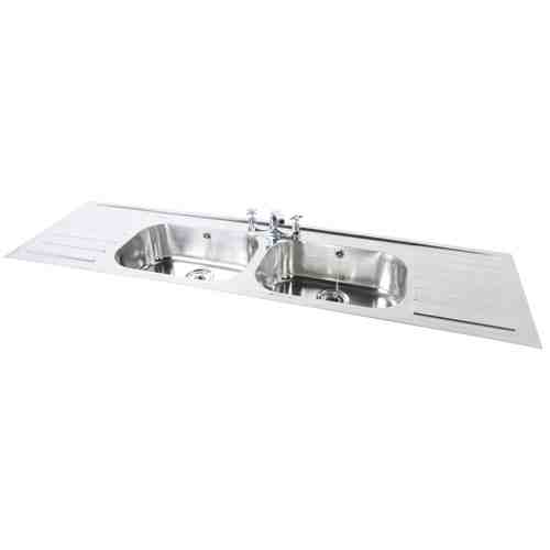 FPI0020-21 Stainless steel sink and drainer