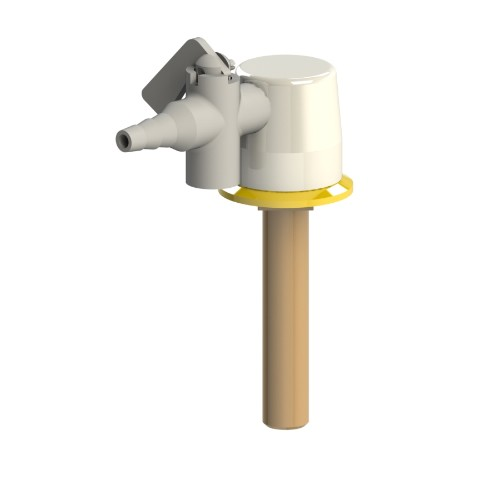 Brownall Drop Lever Gas Tap XL1263-4