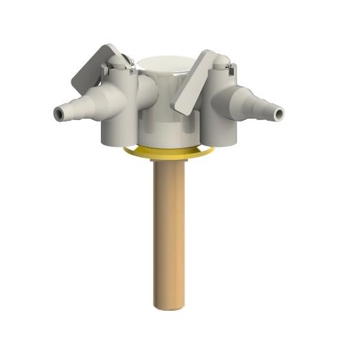 Brownall Drop Lever Gas Tap XL1265-4