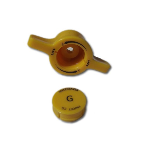Molded nylon lift & turn handle