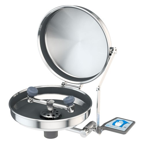 eyewash, stainless steel bowl and cover
