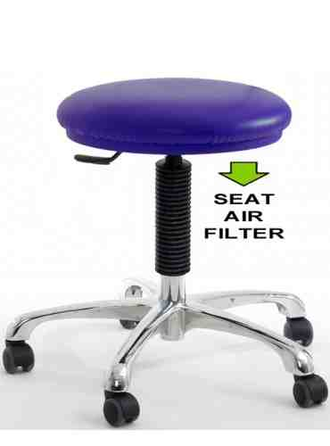CR-SUD lab stool HEPA ultraviolet lg