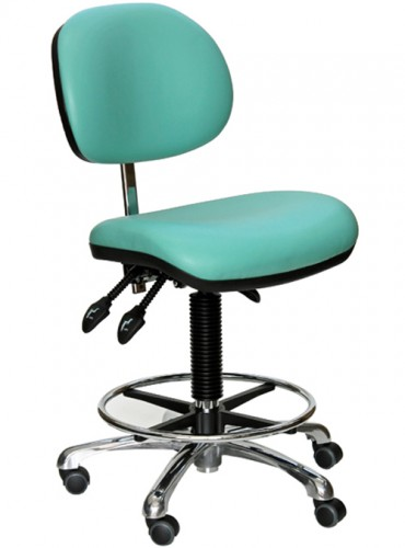 D2-H sea green lab chair high