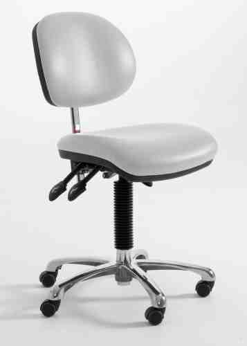 D2 white Laboratory Chair