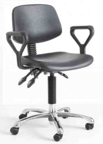 DPU lab chair with optional arms