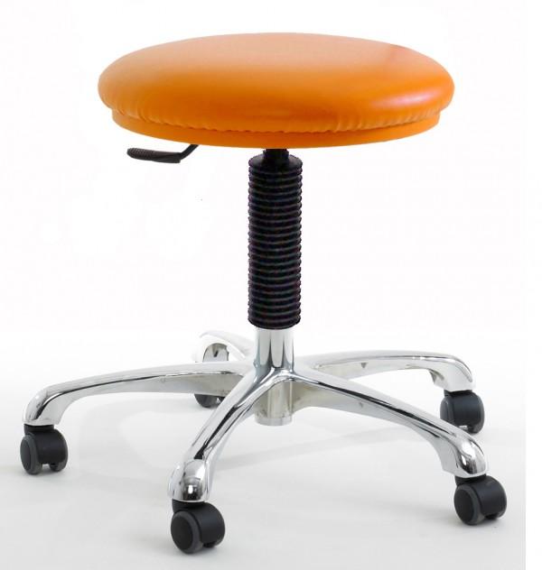 SUD lab stool tangerine