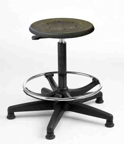 S2-H Lab Polyurethane Stool High